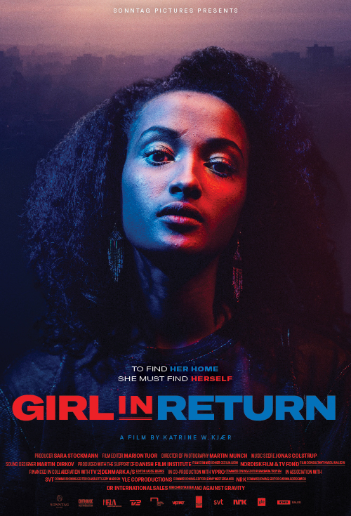 Girl in Return Trailer